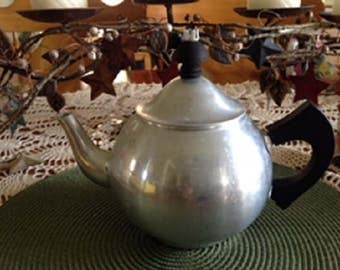 Aluminum Teapot with Tea Infuser