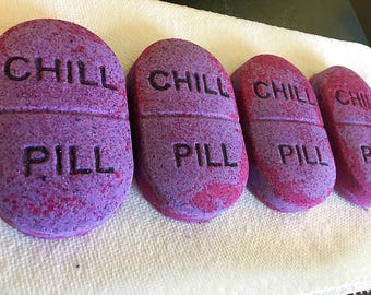 Take a Chill Pill Handmade Bath Bomb