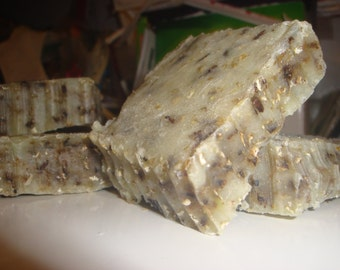 Handmade Lavender and Oatmeal Soap