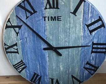 Custom Designed Hand Created Wooden Clock