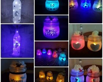 Glitter n Glo Jars