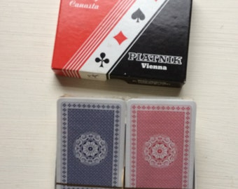 Vintage Playing Cards by Piatnik.