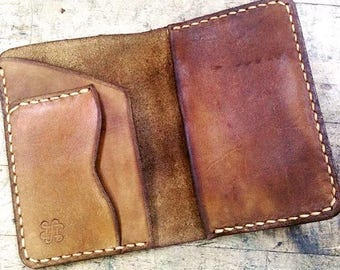 Leather Passport wallet customizable