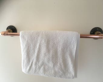 Towel rail holder