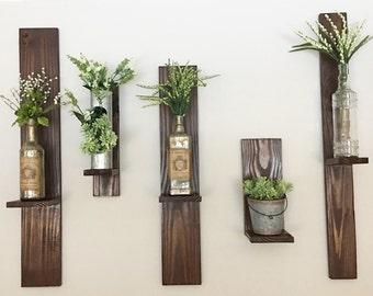 Wooden Shelves (Set of 5)