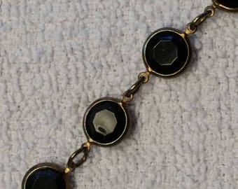 Faceted Stones Necklace