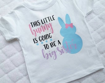 Big Sister Easter Announcement