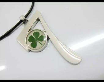 Lucky #7 Four Leaf Clover Necklace
