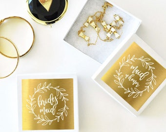 Bridal Party Jewelry Boxes