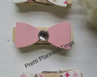 Bow Clip Pins