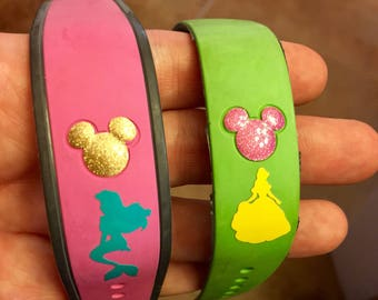 Magic Band decals / magic band stickers / character decals / magic band stickers / Magic band