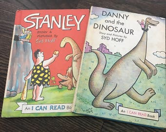 """Children's classics I can read books """"Danny and the Dinosaur"""" by Syd Hoff"""
