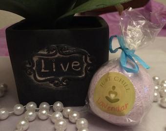 Med Lavender Fizzy Bath Bomb