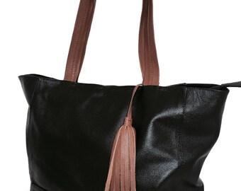 Handbag shoulder Black