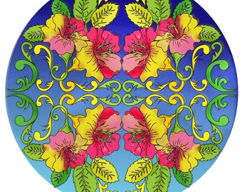 Romantic Flower Mandala