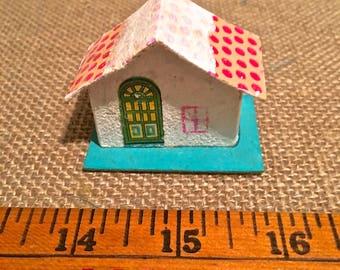 Putz Vintage Paper House