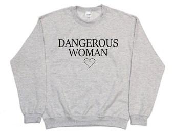 Mujer peligrosa Ariana Heather Grey Sweater