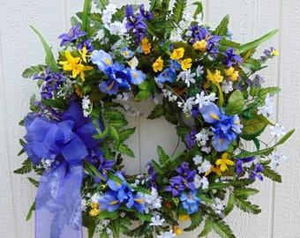 Purple Summer Wreath