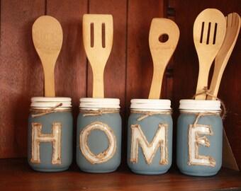 Mason Jar HOME Set