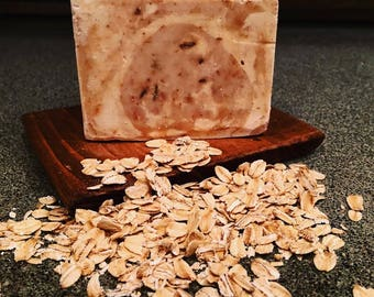 Honey (agave) + Oats soap