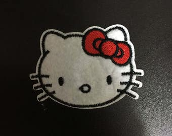 Hello Kitty, Hello Kitty Iron on Patches, 6.8x5cm size
