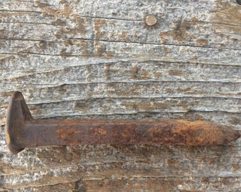Railroad spike