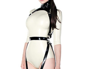 Neck corset with harness
