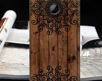 Mandala case HTC Wildfire S one XL one m7 m8 one m9 one m10 10 htc 10 Lifestyle wood case one A9 one E9 + Bolt\ 10 evo HTC U Play 10 Pro