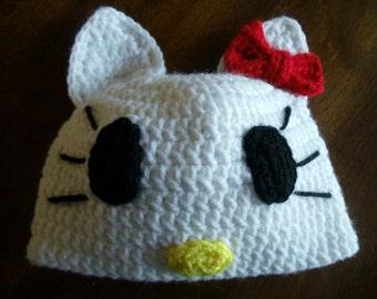 Hello Kitty Inspired Hat