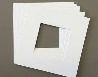 """8x8"""" Square Mat with 4x4"""" Photo Opening"""