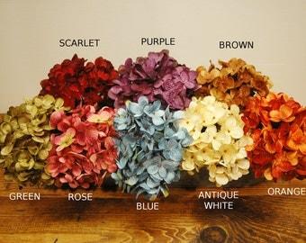 Hydrangea Flowers, Summer Flowers, Flower Add-on, Hydrangea Spray, Spring Flowers, Farmhouse Flowers, Shabby Chic Flower,