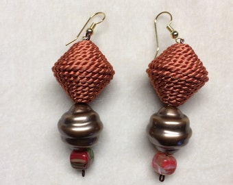 SPICE - Mixed Media earrings