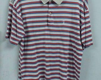 Vintage trussardi polo shirt size M