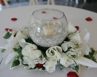 Romantic Bowl Centerpieces set of 10