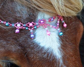 Bubbelgum pannband i rosa