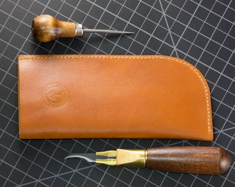Leather Sunglasses Sleeve Case