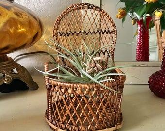 Mini Wicker Chair