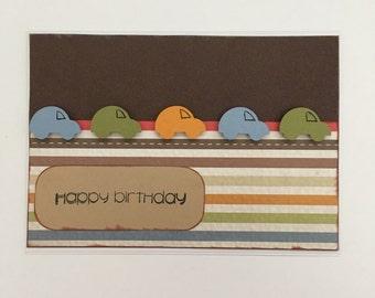 Handmade Card - Happy Birthday (HB34)