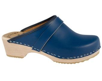 Original of Navy Blue Sweden clogs MB clogs