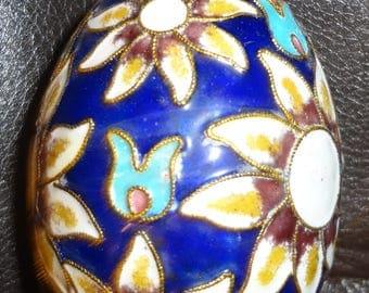 Enamel Cloisonne Hanging Egg Ornament