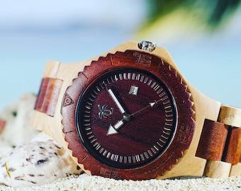 VALENTINE'S SALE (20% OFF) - Wooden Watch, Wood Watch, Present, Gift, Wooden Watches, Wood Watches, Mens Watch, Dad Gift, Watch, Watches