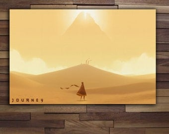 Journey The Game Poster - Canvas