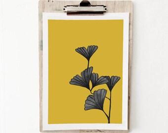 Gingko Leaf Print 1