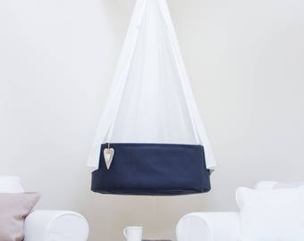Beautiful canopy / veil for the Swingy Nest hanging cradle / crib. Even more coziness for the baby!