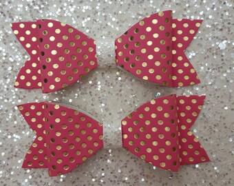 Sarah - Glitter Bow Hair Accessories