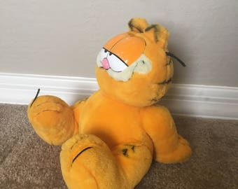 Vintage Kicking Back and Relaxing Garfield