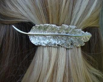 Rhinestone Bridal Hair Clip /Flower Girl Hair Barrette / Wedding Hair Clip / Vintage Inspired Hair Clip / Prom Hair Clip