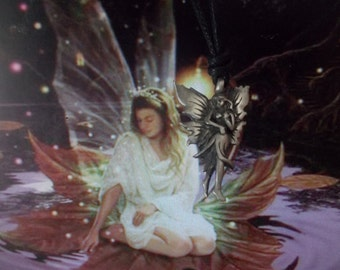 HAUNTED SALEM FAIRY powerful magical spirit of wisdom grace luck love happiness