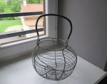 Old eggs basket