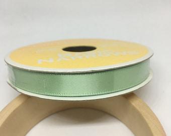 Light Green Ribbon / Polyester Ribbon / Fabric Ribbon / Sewing Ribbon / Scrapbooking / Card Making